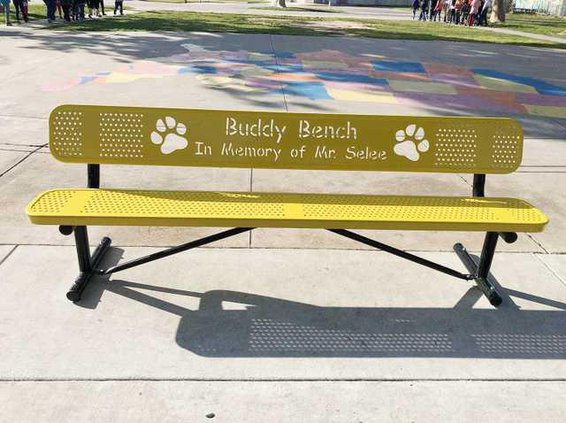 denair teacher bench