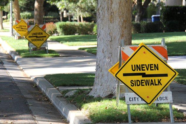sidewalks