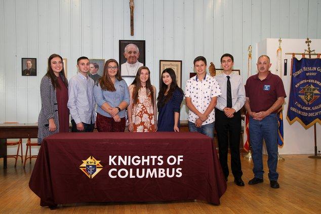 knights of columbus scholarship winners 2018