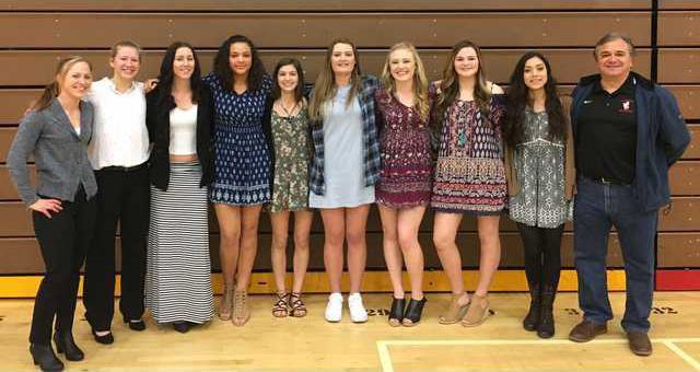 varsity girls hoops
