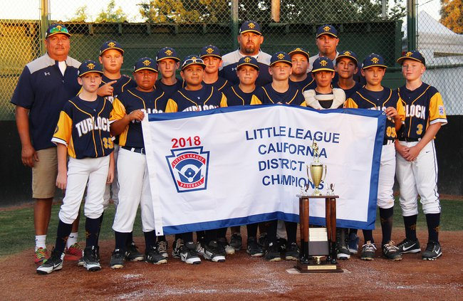 American 12s District champs