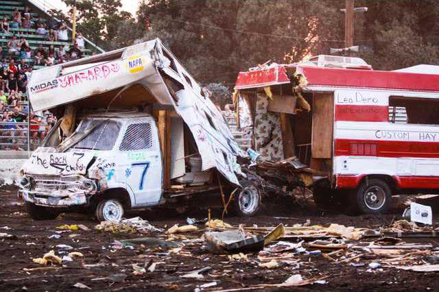 More motorhomes, more fun at this years Destruction Derby - Turlock