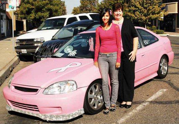 pink car pic1