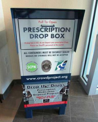 Rx Drop-Off Box