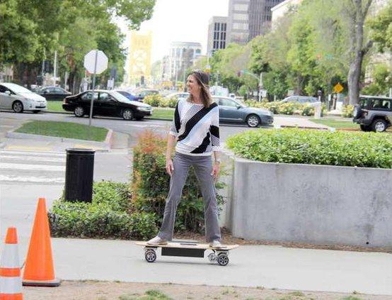 electronic skateboards
