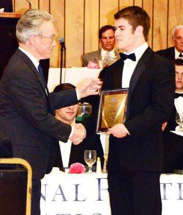 wolfley award  pic