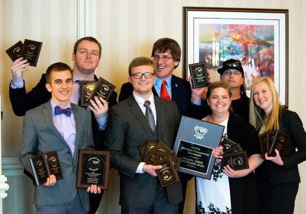 MJC Speech Team at 2015 State Championships