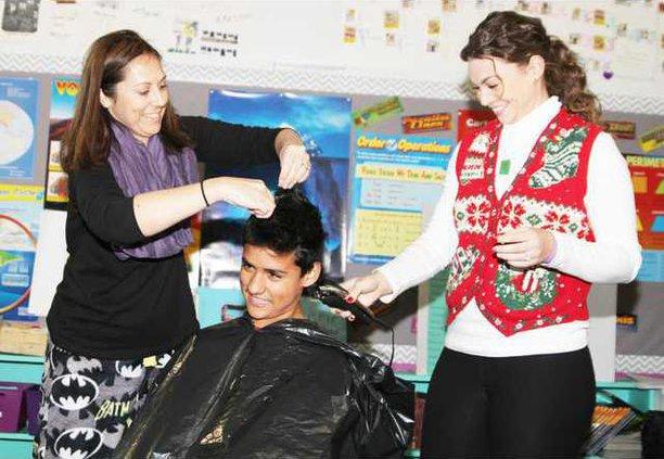 shaving for AJ pic1
