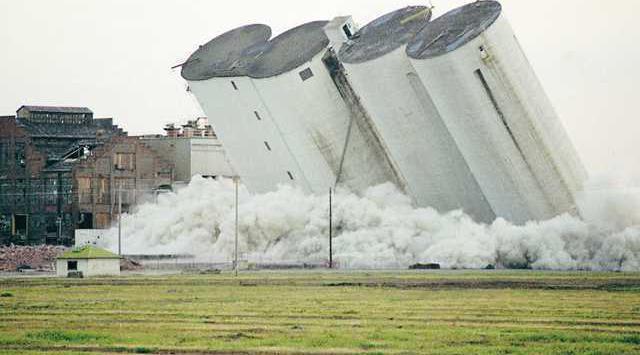 silos blow