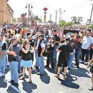 Sons of Anarchy ride into Lathrop - Manteca Bulletin Charming California Map on