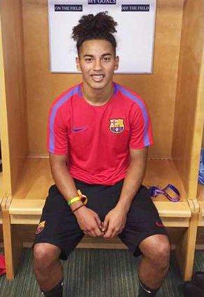 Amaya joins Barcelona