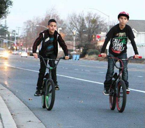 bike lanes pic