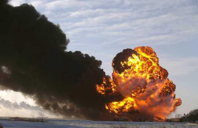 crude oil trains