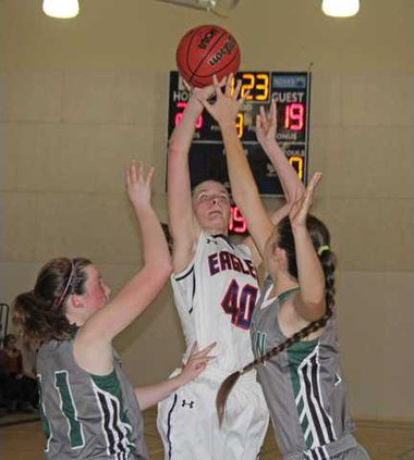 McCalister Russell TC girls basketball