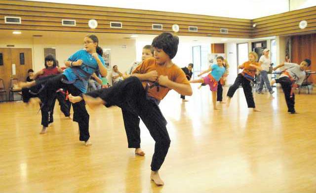 karate class pic