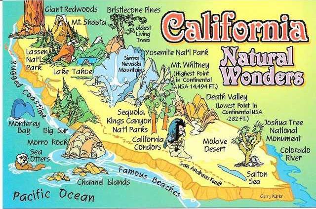 Californias Natural Wonders