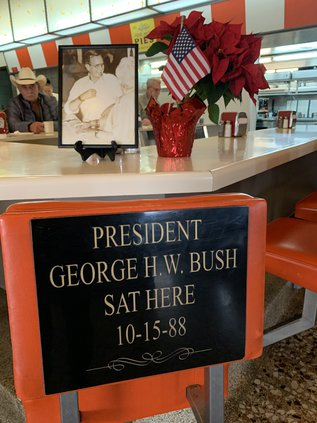 George H W Bush chair