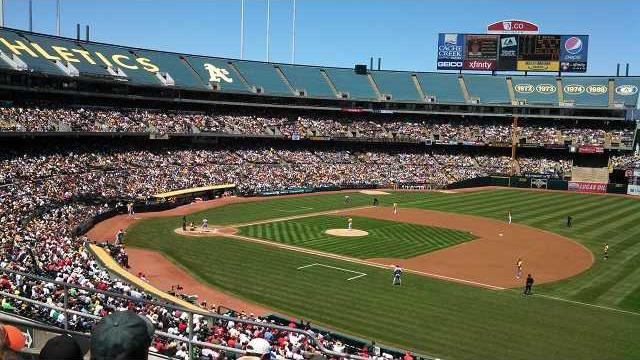 Oakland stadium