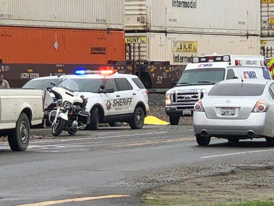 fatal train collision Denair