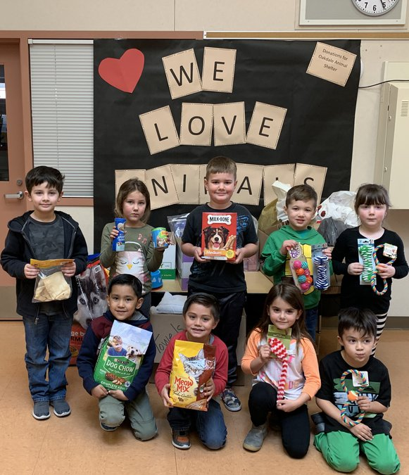 Sierra View Students, Staff Cover Kindness - Oakdale Leader