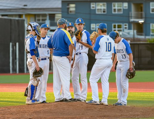 KNIGHTS FALL IN PLAYOFFS