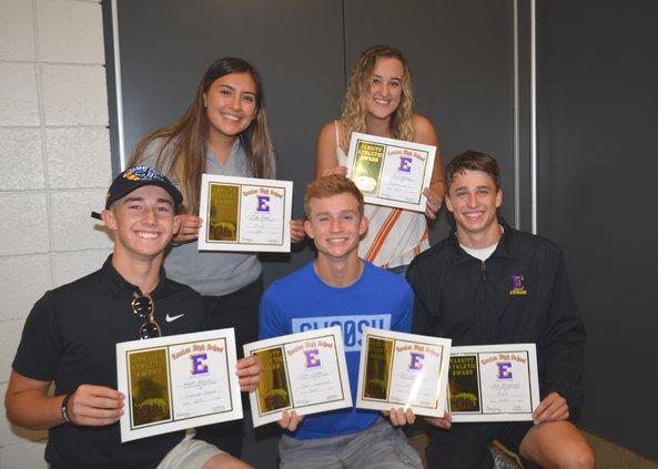 ehs tennis awards