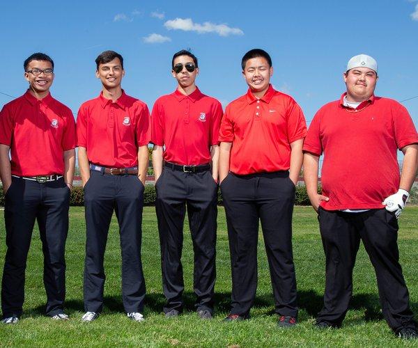 CHS boys golf