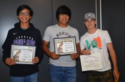 ehs jv baseball awards
