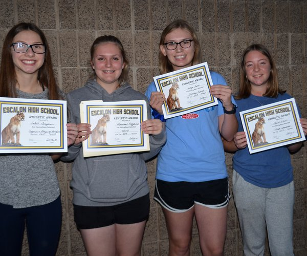 ehs jv softball awards