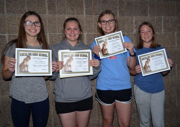 ehs jv softball awards
